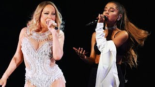 Baixar If Mariah Carey And Ariana Grande Hit Each Other's HIGH NOTES! (Live)