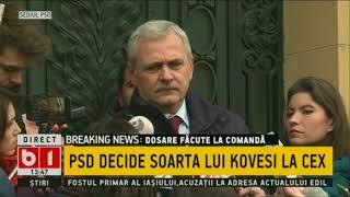 PSD DECIDE SOARTA LUI KOVESI LA CEX