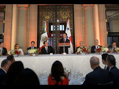 Comida en Honor del Presidente de la República de Panamá, Juan Carlos Varela Rodríguez