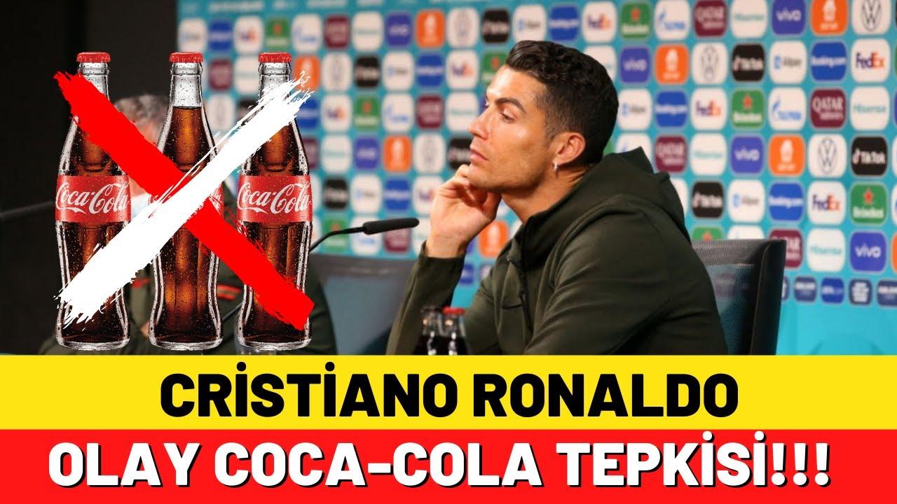 Cristiano Ronaldo'nun Coca-Cola tepkisi olay oldu!! - YouTube