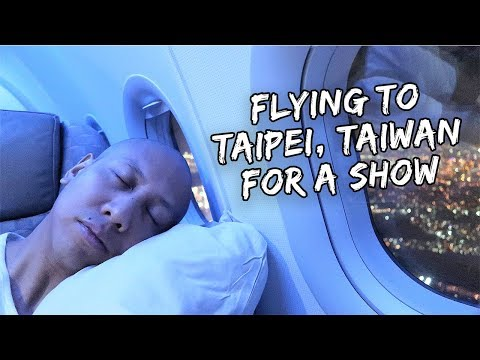 Flying to Taipei, Taiwan For a Show | Vlog #344