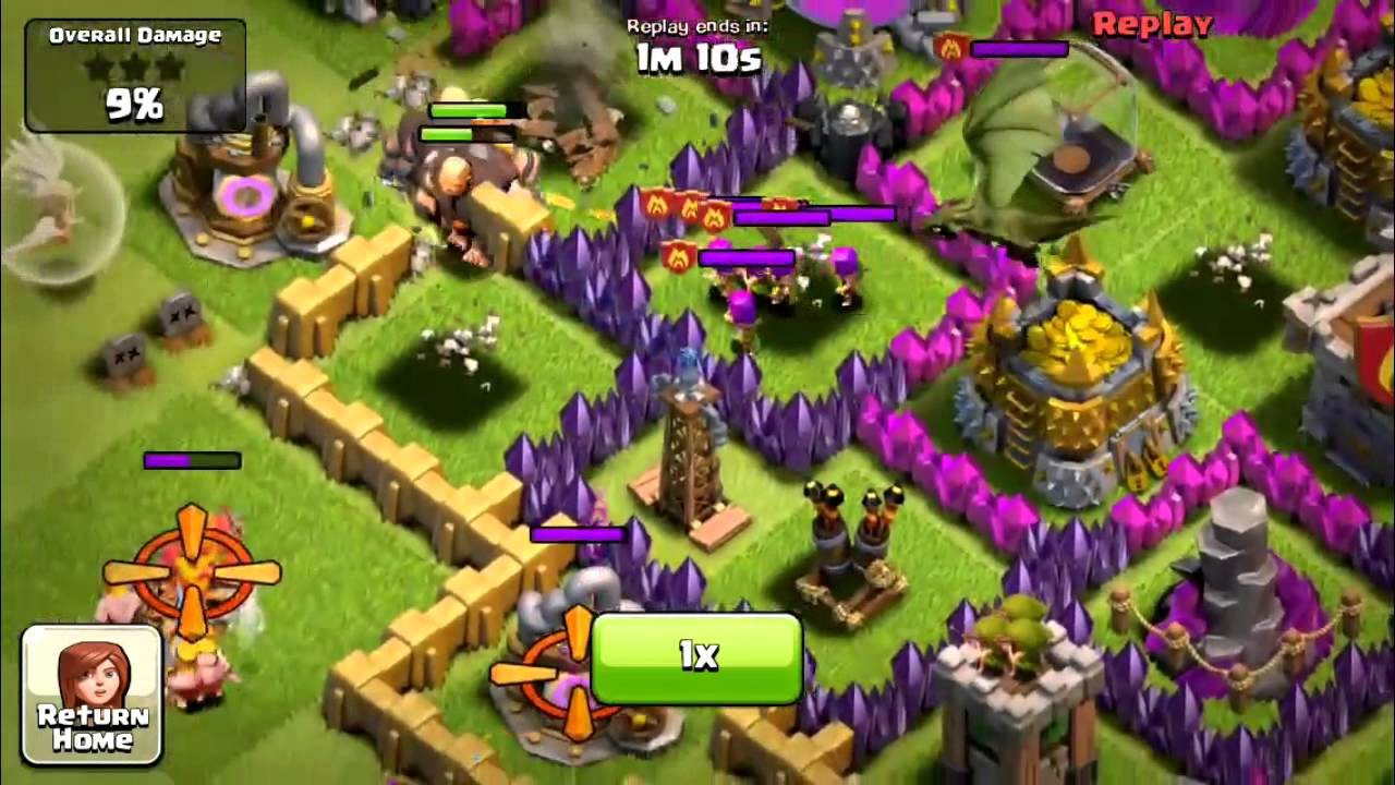 Level 6 wizard tower in action