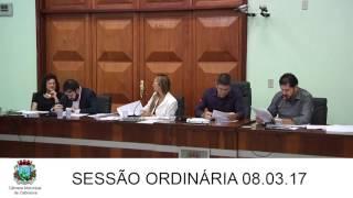 Sessão da Câmara 08.03.17