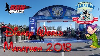 Disney World Marathon 2018 Dopey Challenge