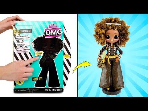 Кукла L.O.L. Роял Би во всей красе! Открываем коробку с куклой L.O.L. Surprise OMG