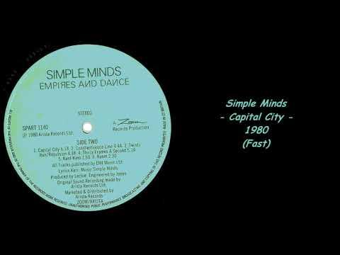 Simple Minds - Capital City - 1980 (Fast)