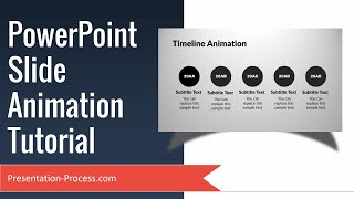 PowerPoint Slide Animation Tutorial (Advanced Animations)