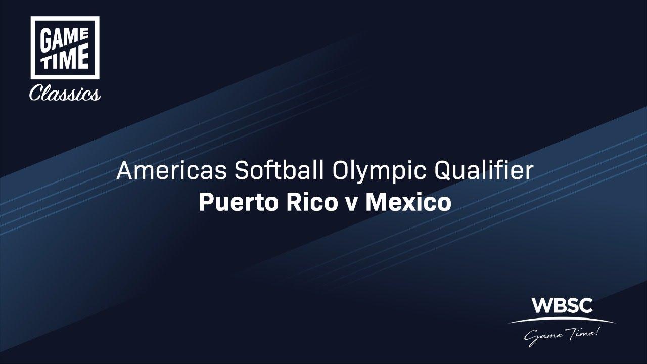 Puerto Rico v Mexico - Americas Softball Olympic Qualifier