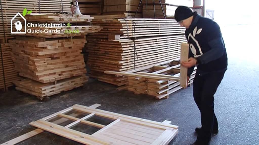Le montage sans souci de votre chalet en bois | Chaletdejardin.fr