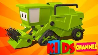 Harvester | 3D Auto-cartoons | video für Kinder