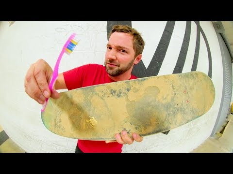 How To Clean Your Complete Skateboard