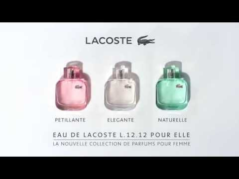 Parfums Des SparklingNaturalElegantLe Trio Lacoste Féminin v8Nnwm0