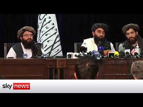 In Full: The Taliban's first news conference from Kabul