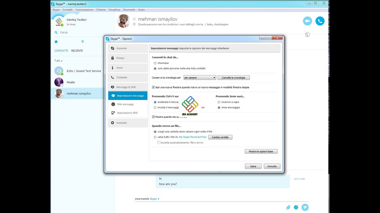 elimina account skype