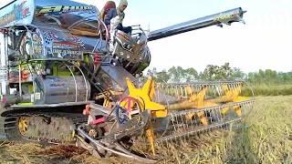 รถเกี่ยวนวดข้าว-สมบุญ-พัฒนา-การช่าง-combine-harvester