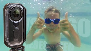 insta360 One X Venture Case Review  Newly Redesigned Underwater Case!