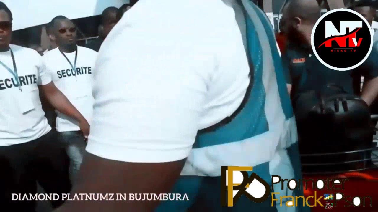 Diamond platinumz at bujumbura