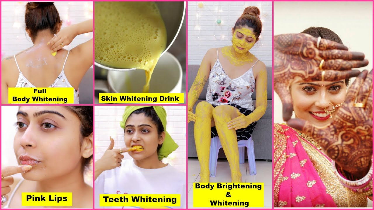 Pre Bridal Full Body Care Routine To Get Bright and Glossy skin in 11 Days   Home Remedies