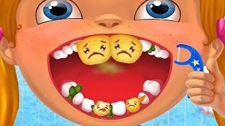"""Happy Teeth Healthy Kids"" Learn How To Brush Teeth - Fun Educational Games For Children"