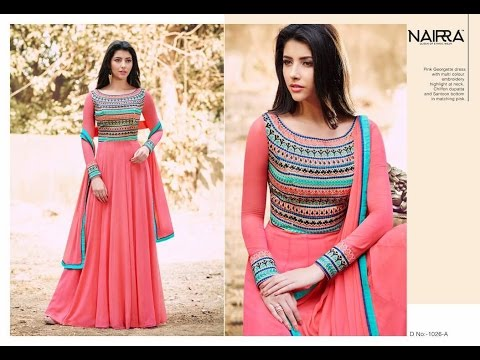 Modern New Arrivals Fashionable Women Long Anarkali suits dress - YouTube