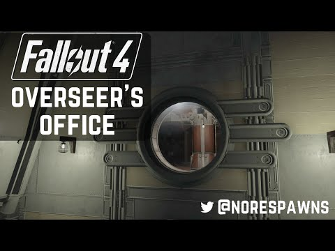Fallout 4 Vault-Tec Workshop - Overseer's Office
