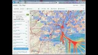 GIS Tutorial: Adding custom basemaps to ArcGIS Online, Data.gov Web Map Services