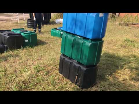 Пластиковый бак R-200 (емкость для питьевой воды) на 200 литров