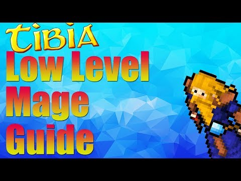 Tibia Low Level Mage Guide 8-50 | Gaming By Gamers