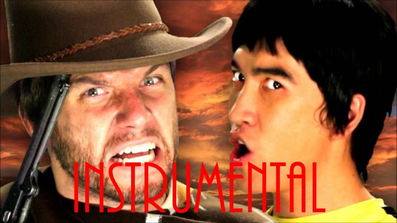 ♪ [Instrumental] Bruce Lee vs Clint Eastwood ERB Season 2 - INSTRUMENTAL