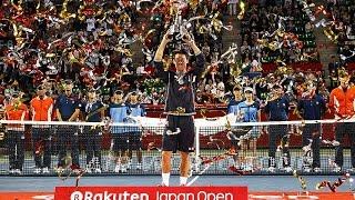 A Look Back At The 2014 Rakuten Japan Open Tennis Championships
