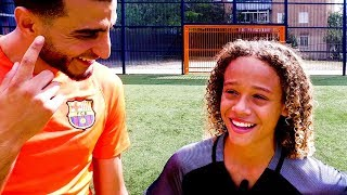 XAVI SIMONS - INTERVIEW & SKILLS