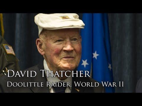 Full Interview: Staff Sergeant David Thatcher