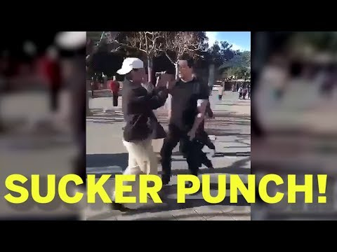 Leftist Sucker Punches Student at Berkeley