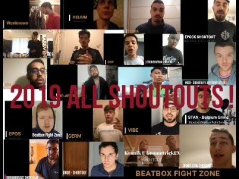 HIGHLIGHTS ALL SHOUTOUTS FOR BEATBOX FIGHT ZONE !