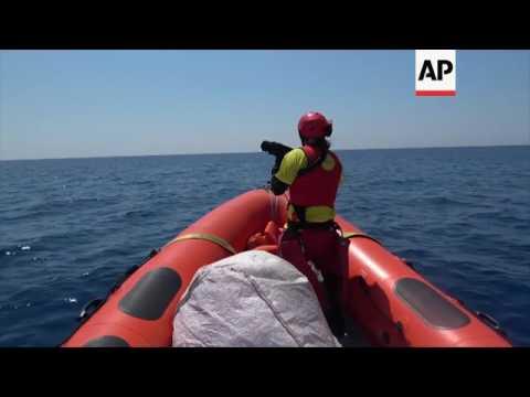 Spanish NGO rescues migrants in Mediterranean