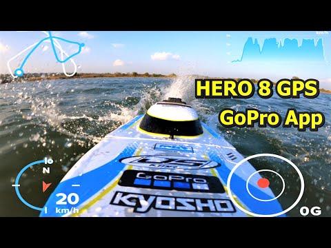 GoPro Hero 8 GPS Telemetry via GoPro App Android Tutorial