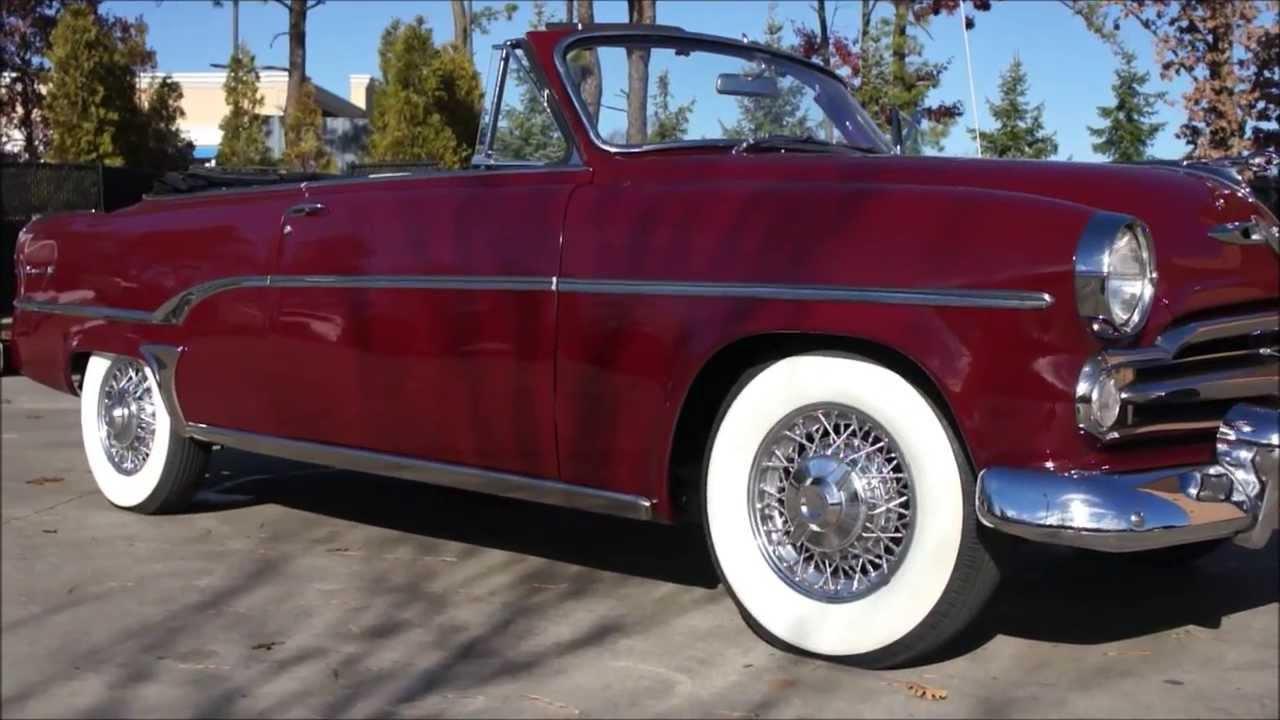 1954 Dodge Royal Convertible For Sale~Rare~Hemi~Power Top~Senior ...
