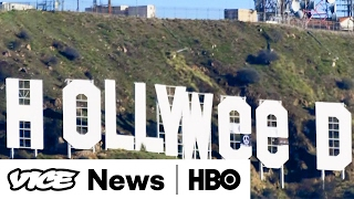How This Man Pulled Off The Hollyweed Sign Prank (HBO)