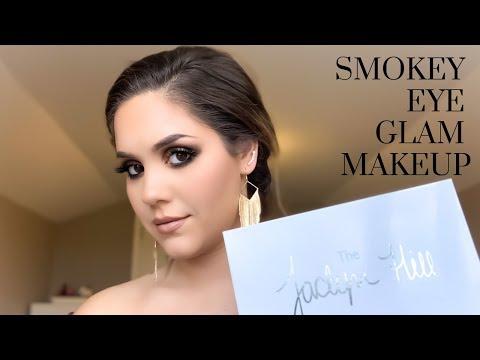Smokey Eye Glam Makeup   Jaclyn Hill x Morphe Palette thumbnail