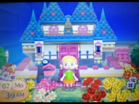 Animal crossing new leaf house tour youtube for Animal crossing new leaf arredamento