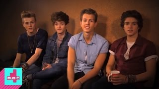 Brad, James, Connor & Tristan talk to 4Music about their perfect da...