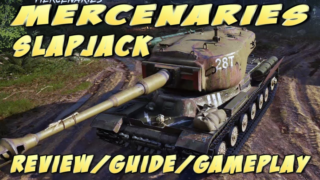 World of Tanks console: Mercenaries Slapjack Tier VII Review/Guide