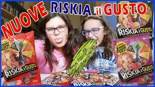 NUOVE caramelle RISKIA IL GUSTO - Challenge: Giulia vs Federica