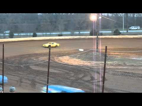 My First Heat Race at West Siloam Speedway. 30 March 2013. Finished 4th.
