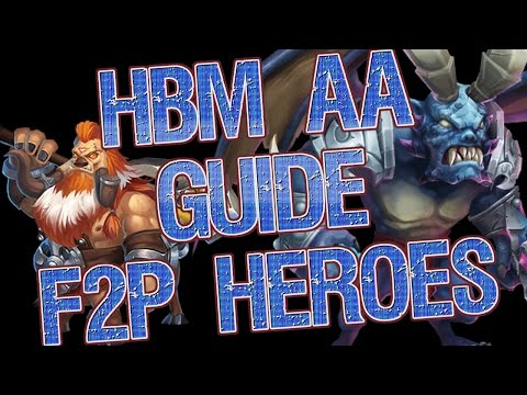 Castle Clash: HBM AA Guide With F2P Heroes