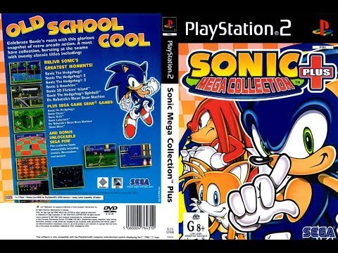 Sonic Mega Collection Plus PS2  VAMOS JOGAR !!