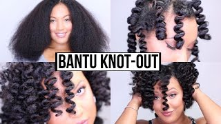 How To Get The PERFECT Bantu Knot Out - GUARANTEED Results!!