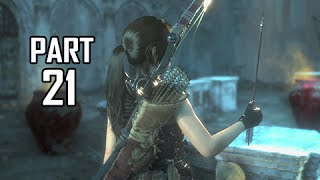 Rise of the Tomb Raider Walkthrough Part 21 - Armor Piercing Arrows (Let's Play Gameplay Commentary)