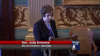 Sen. Emmons welcomes Army veteran Jim Schimmel to the Michigan Senate