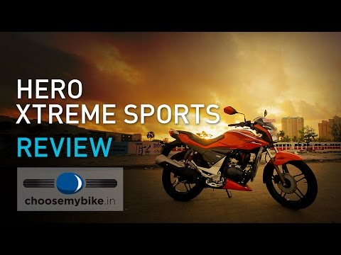 Hero Xtreme Sports : ChooseMyBike.in Review